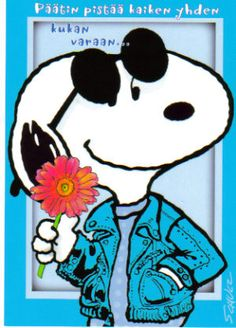 Hippie Snoopy(Peanuts) on face book | Recent Photos The Commons Getty Collection Galleries World Map App ...