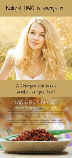 This shampoo for hair loss is boosted by more  than 20 potent ingredients that revitalize your  scalp and hair follicles with rich nutrients for the  best looking hair possible.