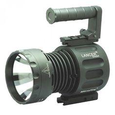 Heavy Duty torche lumière lampe de poche lampe Bright Long Faisceau