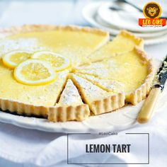 Evening! How are you doing?🙃 And we're working to make you rested😉 Here is our next tasty recipe😋  🎂 CAKE #7 LEMON TART  Lemon tart is a great citrus dessert made from scratch & using basic ingredients. It's a perfect baking project for kids as well! 👧👦bLemons have a wonderful, fresh sourness that's lovely in a creamy tart that might otherwise be too heavy and sweet🍋 Delightfully delicious, citrusy lemon tart that simply melts in your mouth. Mmm. . .😋  📢Type your email to get the…