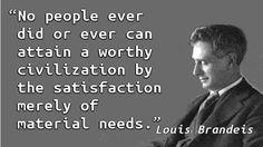 Louis Brandeis - Civilization