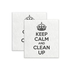 Keep Calm - dishcloth