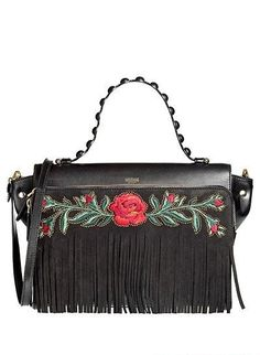 Moschino 2013: Embroidery, China red &  Tassels