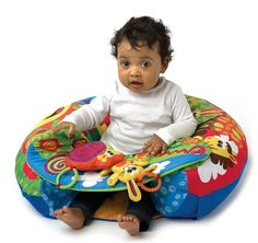 Playgro Sit 'n Play Inflatable Ring with Play Tray Shops, Baby Learning, Sit Up, Activity Centers, Baby Car Seats, Bean Bag Chair, Infant, This Or That Questions, Children