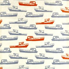 Boats screenprint