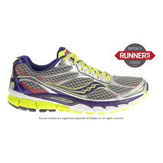 Rev up your running comfort with the newly updated Womens Saucony Ride 7 thats now lighter and more comfortable than ever before! Feel more connected to your natural stride with the lower weight and improved flexibility of this running shoe, while soaking up the Ride 7s smoother transitions and enhanced heel-to-toe cushioning