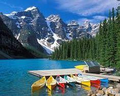 Résultats de recherche d'images pour «moraine lake alberta kanada»