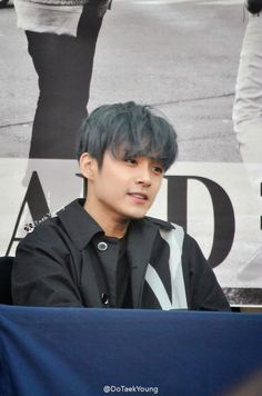 150411 Jaejin @ Fansign -Laugh with a smile~*
