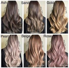 Perfect hair colours to choose from