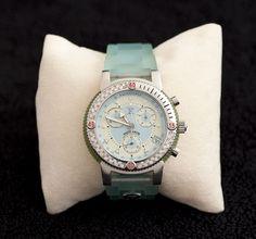 Unisex Seafoam Green Chronograph Watch.  $700