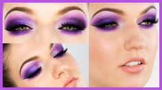 Ultra Violet Smokey Eye Makeup For Parties/clubbing Best Makeup Tutorials, Beauty Tutorials, Best Makeup Products, Party Makeup, Bridal Makeup, Smokey Eye Makeup Video, Julia Graf, Bedroom Eyes, Crazy Colour