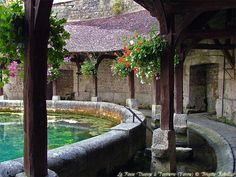 la Fosse Dionne - Tonnerre, Bourgogne. If in Chablis, France, this is definitely a beautiful place to visit.