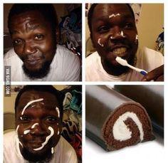 Chocolate Cake Makeup