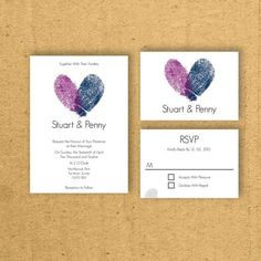 14 Fun and Creative Wedding Invitation and Save-the-Date Cards