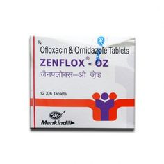 ZENFLOX OZ TAB (6 TAB)