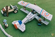 Wesley's World War I planes are pleasing to the eye on all fronts.