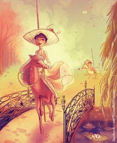 Afternoon Ride by Blumina on deviantART