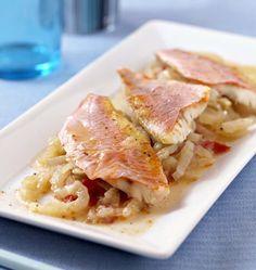Filets de rougets au fenouil et pastis en papillote - �d�lices : Recettes de cuisine faciles et originales !