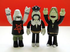in crowd amos toys | amos in-crowd · ages of metal figures: terry, ian, john (2003 ...
