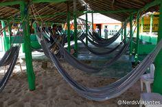 Espaço para descanso - Pousada do Paulo - Caburé - Maranhão