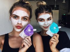 what did summer & i do directly after wrapping? yes, a face mask from Poses For Pictures, Bff Pictures, Shes Beauty Shes Grace, Summer Mckeen, Olivia Jade, Gal Pal, Bff Goals, Face Hair, Fashion Face Mask