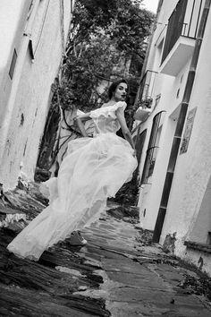 Blanca Padilla photographed by Nacho Alegre for Vogue Novias Spring / Summer 2017