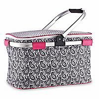 The Pampered Chef® On-the-Go Insulated Collapsible Picnic Basket - $41.00