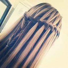 braides, fish tail, girl, hair
