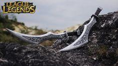 League of Legends - Katarina swords tutorial