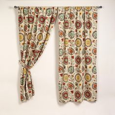 Love these Suzani curtains