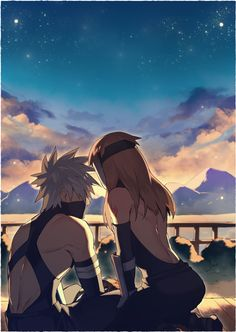How i wish kakashi was in live with someone...i want him to be happy❤