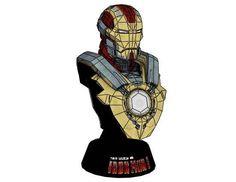 Marvel Comics - Iron Man Mark 17 (Mark XVII) Heartbreaker Bust Free Papercraft Download - http://www.papercraftsquare.com/marvel-comics-iron-man-mark-17-mark-xvii-heartbreaker-bust-free-papercraft-download.html#Bust, #Heartbreaker, #IronMan, #Mark17, #MarkXVII, #MarvelComics