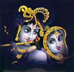 Radha Krishna - The Divine Lovers - Hindu Posters (Reprint on Card Paper - Unframed) Krishna Statue, Radha Krishna Images, Lord Krishna Images, Radha Krishna Love, Radhe Krishna, Shree Krishna, Holi Wishes In Hindi, Holi Wishes Images, Holi Images