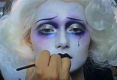 Clown Makeup, Cute Makeup, Costume Makeup, Makeup Looks, Halloween Face Makeup, Carnival Makeup, Crazy Makeup, Makeup Inspo, Makeup Art