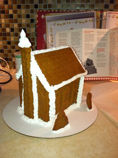 Gingerbread House - I got the pampered chef stone wear mold!!  Love it!!