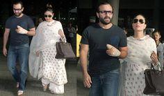 Pregnant Kareena Kapoor shows off growing baby bump - http://www.movierog.com/pregnant-kareena-kapoor-shows-off-growing-baby-bump/