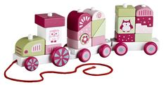 Kids Concept Dragleksak Tåg med Klossar Pumpkin Rosa Fisher Price, Girls Bedroom, Gifts For Kids, Pumpkin, Concept, Holiday Decor, Pink, Former, Stuffing