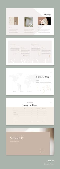 powerpoint Neutral PowerPoint Template, graphic design, clean and modern template, infographic. Ppt Design, Icon Design, Leaflet Design, Design Brochure, Layout Design, Slide Design, Power Points, Design Room, Design Studio