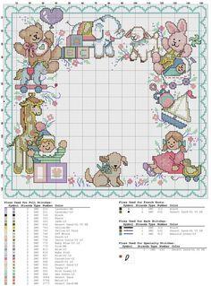 I need to stitch this NOW! Baby Cross Stitch Patterns, Cross Stitch For Kids, Cute Cross Stitch, Cross Stitch Samplers, Cross Stitch Charts, Cross Stitch Designs, Baby Patterns, Cross Stitching, Cross Stitch Embroidery