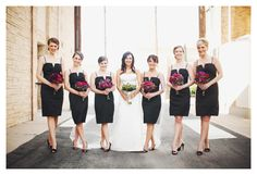 Stacy Reeves is the freaking queen of bridal party posing. ROCK. STAR.