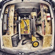 Van Storage, Trailer Storage, Tool Storage, Storage Organization, Peugeot Expert, Van Shelving, Flooring Tools, Van Racking, Mobile Workshop