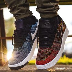 Nike Air Force 1 Ultra Flyknit Low (by str8outtajersey3) Available at Footlocker / End Clothing