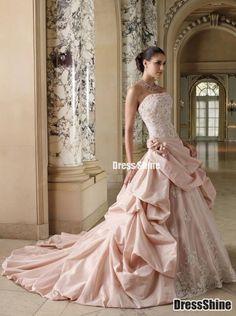 I like this - Amazing Taffeta and Lace A-Line Wedding Dress. Do you think I should buy it?