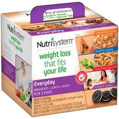 Nutrisystem Everyday 5 Day Weight Loss Kit - Walmart.com