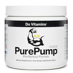 PurePump - Do Vitamins - The first of its kind, PurePump®️ is the cleanest pre-workout supplement available. Free of artificial ingredients and dangerous chemicals, PurePump®️ will help you perform at a higher level. #paleo #certifiedpaleo #vegan #paleovegan