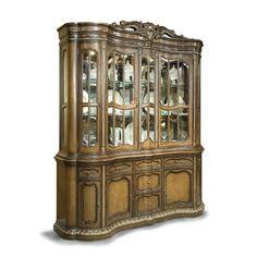 Benetti's Italia CAMCHHU-1039-CHHU Camelia China Hutch - Home Furniture Showroom