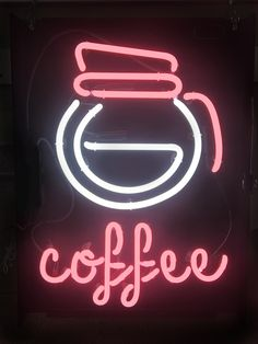 #coffee #neon #jantecneon #neonsigns #coffeepot www.jantecneon.com