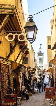 Medina of Fez, Moroc