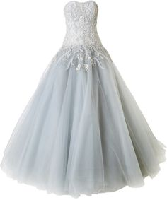 Perfect princess dress: Marchesa strapless embellished ball gown