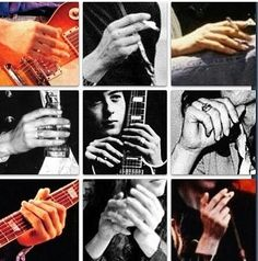 "chocolatebananashake: "" waywaydowninside: ""Jimmy Page has lovely hands. I imagine they're really strong too. All that fingering. "" He has b-e-a-uuuuutiful hands. So large and strong. Dazed And Confused, Jimmy Page, Canning, Led Zeppelin, My Love, Count, Instagram Posts, Strong, Hands"